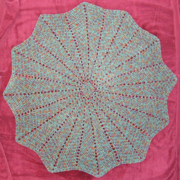 Knitting Pattern For Round Baby Blanket : A Fulfilling Way to Use the Stash - Afghans Baby Charity ...