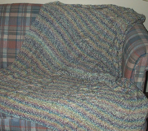 Crochet Afghan Patterns With Variegated Yarn : BABY BLANKET PATTERN VARIEGATED - Free Patterns