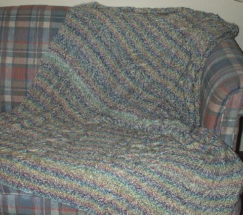 Crochet Afghan Pattern For Variegated Yarn : BABY BLANKET PATTERN VARIEGATED - Free Patterns