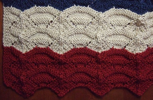 Afghan Patterns Knitting : Knitted Carnival Afghan - Afghans Knitted My Patterns - - Mamas Stitcher...