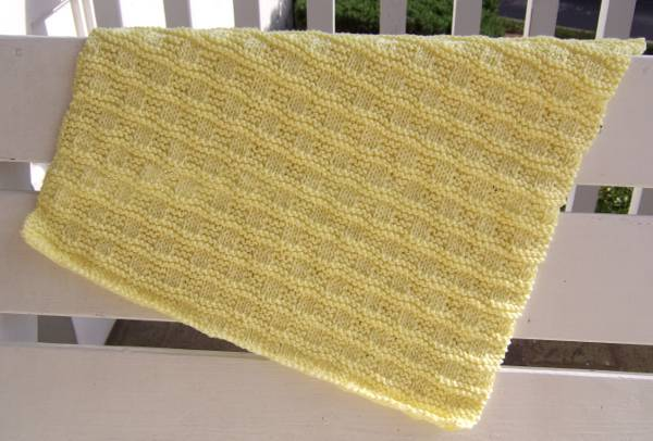 Free Knitted Cup Cozy Pattern : Little Checks Baby Blanket - Afghans Baby Knitted My Patterns - - Mamas ...