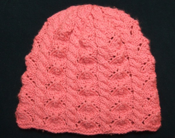Faceted Lace and Cables Baby Hat - Baby Clothing Knitted My Patterns - - Mama...
