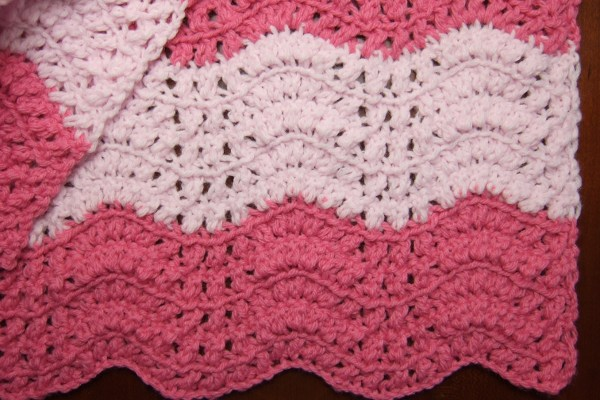 Free Crochet Pattern Ripple Blanket : DOUBLE CROCHET RIPPLE PATTERN - Crochet and Knitting Patterns