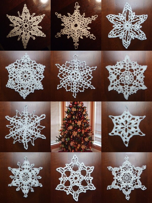 Free Crochet Pattern For Snowflake Table Runner : CROCHETD SNOWFLAKES PATTERNS Crochet Projects