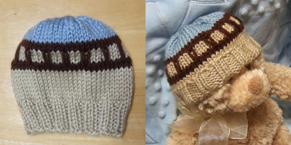 Train Track Baby Hat - Baby Clothing Knitted My Patterns ...