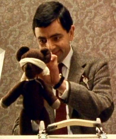 Teddy and Mr. Bean on a mystery holiday